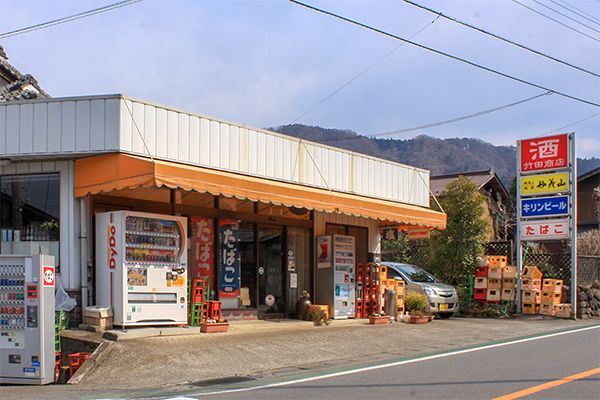 竹田商店の外観